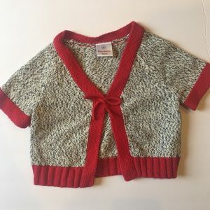 Hanna Andersson Kids 60 Holiday Marle Bow Sweater